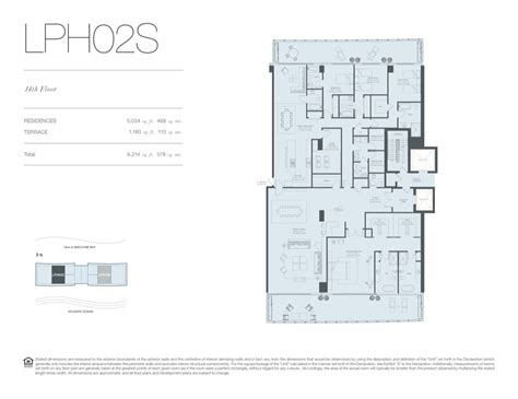 floor plan key oceana key biscayne new construction