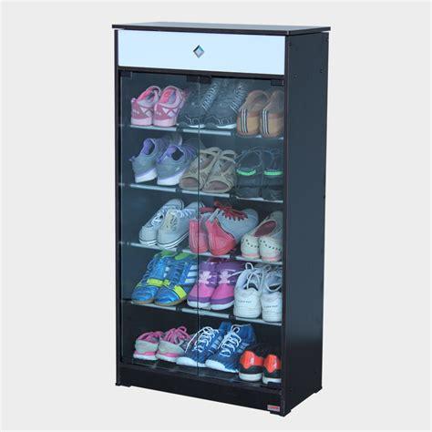 Rak Sepatu Kaca Informa jual rak sepatu kaca 2 pintu abhieshop