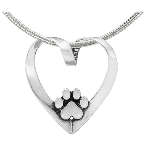And Paw Necklace paw print jewelry paw print necklaces pendants watches