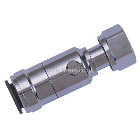Chrome Push Fit Plumbing Fittings jg speedfit brass chrome plated with tap connector bspp