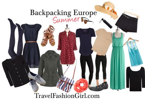 Europe Travel Wardrobe by Backpacking Europe In Summer