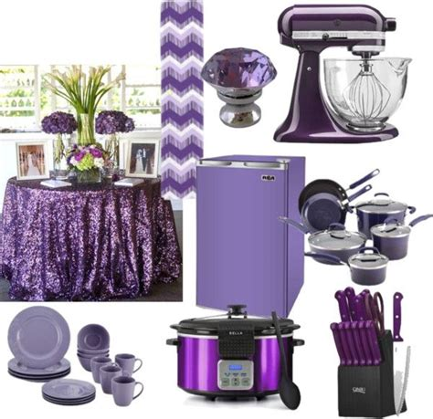 Purple Home Decor Accessories by Best 25 Purple Kitchen Accessories Ideas On