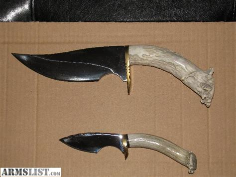 antler knives for sale armslist for sale trade and antler knife set