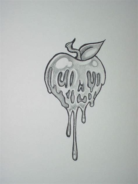 butt cheek tattoo poison apple by shadowkeeper1327 on deviantart