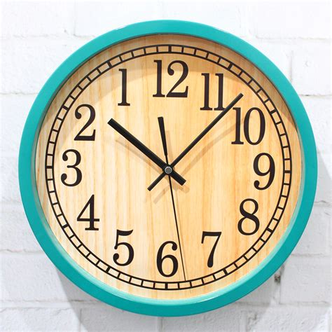 unique large wall clocks wholesale large decorative pastoral wood wall clocks