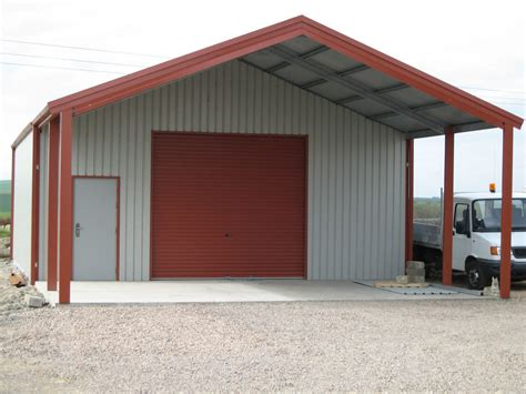 building a workshop garage grian steel buildings double garage workshop steel