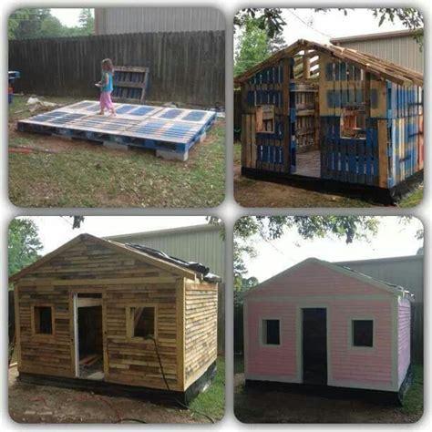diy playhouse diy pallet playhouse diy