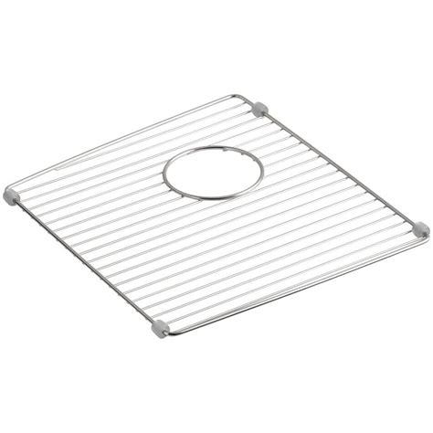 wire rack sink protector sink protector for kohler sink kohler basin rack 27