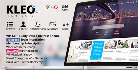 theme wordpress kleo kleo next level premium wordpress theme wordpress