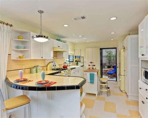 retro kitchen flooring home design ideas pictures