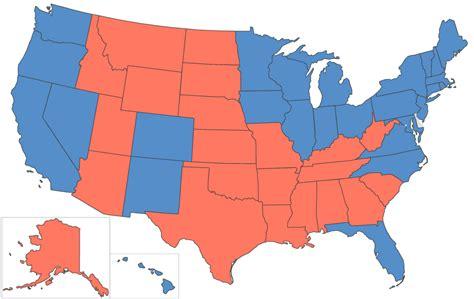 mapaor de elecciones usa 2016 el universal estados unidos elige presidente