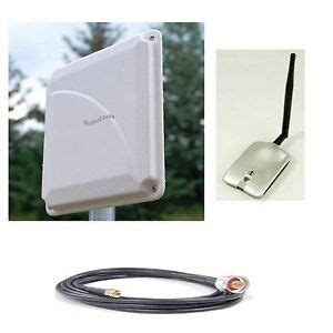 superlinxs wi fi range booster antenna usb indoor outdoor wlan 25 coax cable