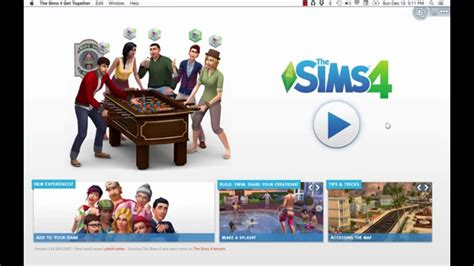 sims 4 mac wann install the sims 4 get together on mac os x