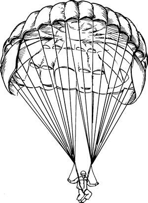 army parachute coloring pages parachute drawing parachutes pinterest parachutes