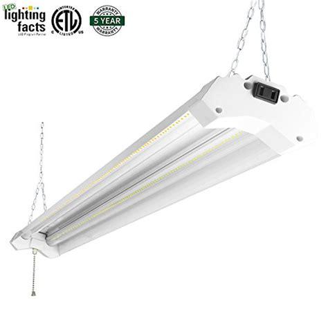 daylight led shop light authentic hykolity utility led shop light 4ft 40 watt 4800