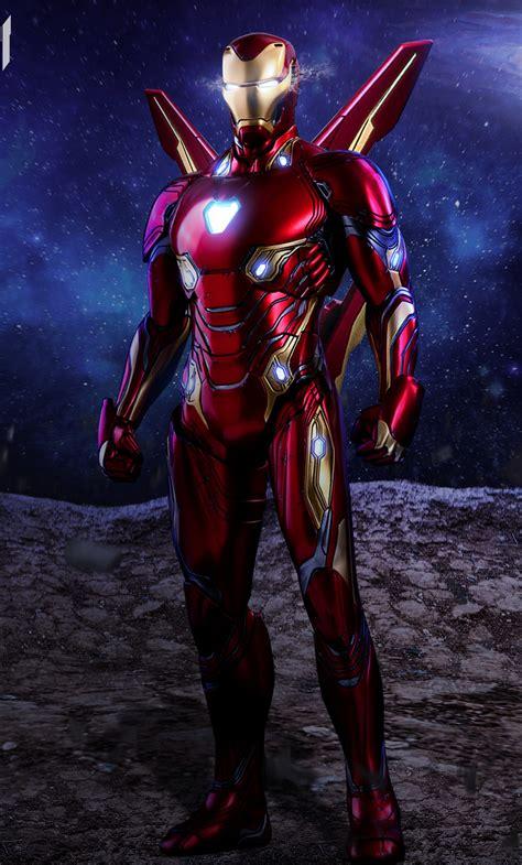 iron man avengers infinity war suit artwork