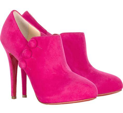 transparent heel boots shoes png image png mart