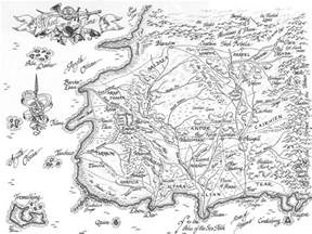 Eye Of The World Map by Wordsmithonia The Eye Of The World By Robert Jordan