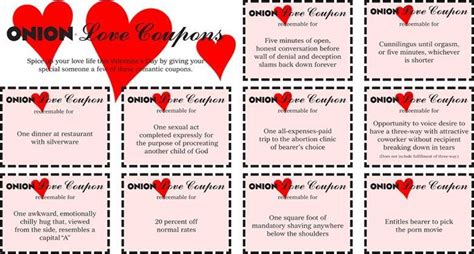 free printable dirty love coupons for him printable sex coupon