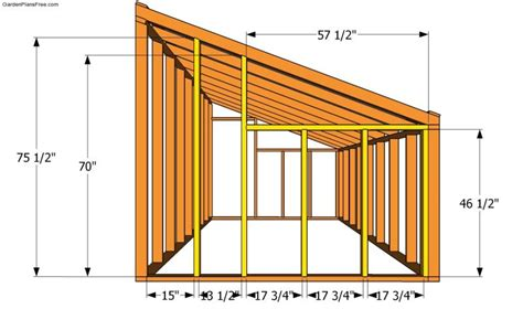 guide free lean to shed design nosote practical guide materials needed to build a greenhouse