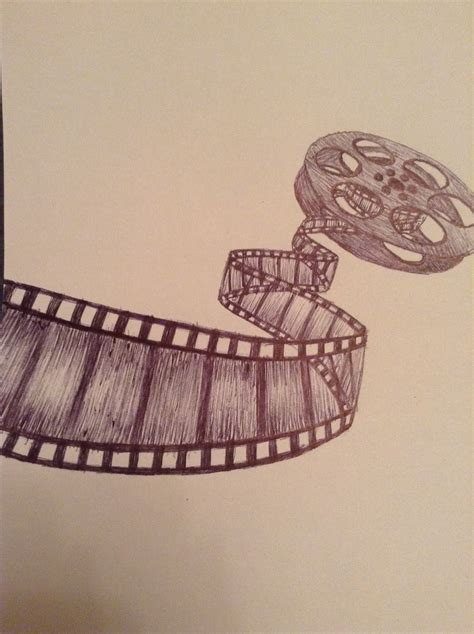 film reel tattoo reel drawingn myignisrules this has your name