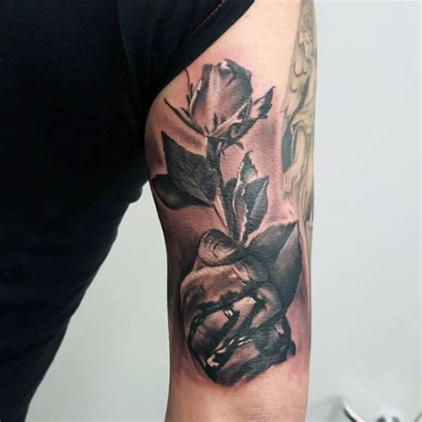 50 tricep tattoos for men masculine design ideas