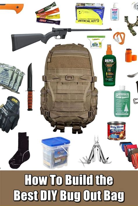 Pdf Build Bug Out Bag how to build the best diy bug out bag survival bag and shtf