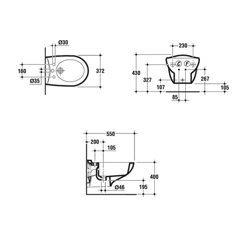 vaso bidet ideal standard ala bidet sospeso 1f idralia