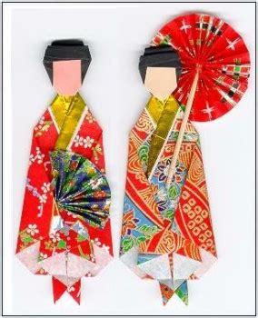 Kimono Origami - diagram kimono origami 171 embroidery origami