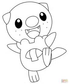 pokemon coloring pages sandile oshawott pokemon coloring page free printable coloring pages