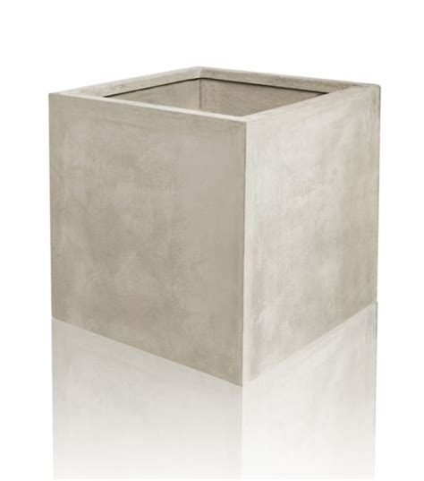 feuerschale steinoptik 220 bertopf aus fiberglas in stein optik 40cm x 40cm x 40cm