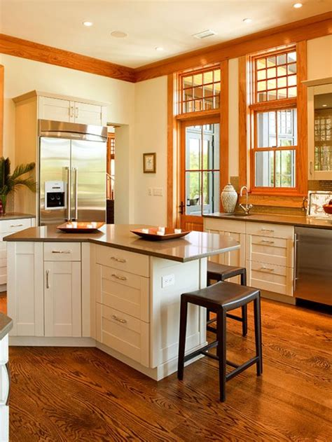 wood trim white cabinets houzz - White Cupboards With Wood Trim