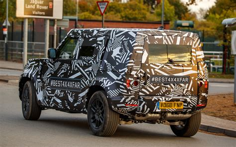 land rover defender leaked   spy