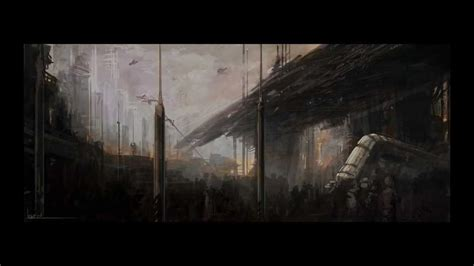 Paint Design by Concept Art Sci Fi Landscape Youtube