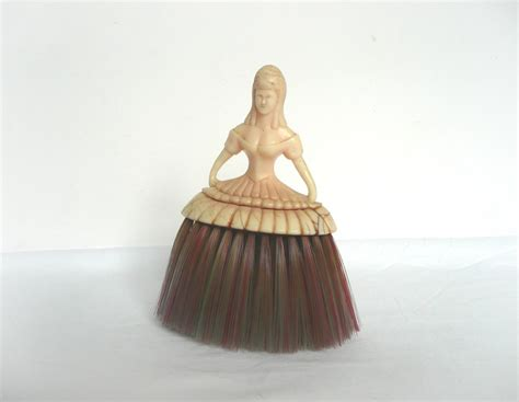crinoline brush vintage clothes brush by