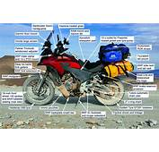 Honda CB500X  Serious Consideration For A RTW Machine