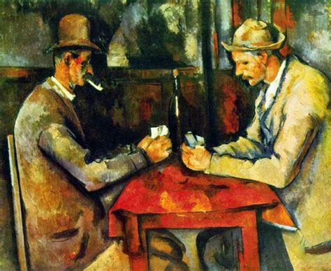 cezanne masters of art 3791348256 paul cezanne the card players painting best paintings for sale