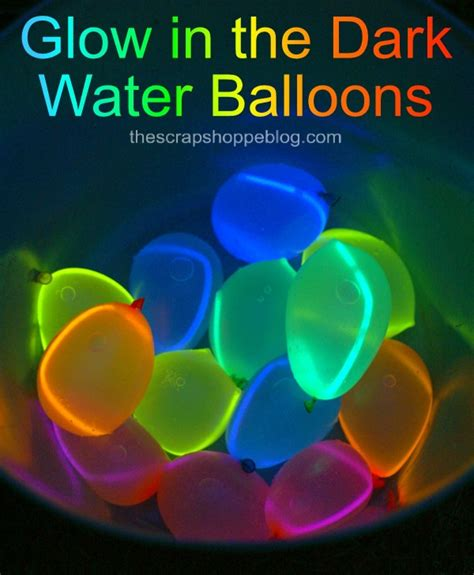 how to make glow in the paint without glow powder glow in the water balloons design dazzle