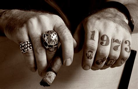 cigar tattoo index of