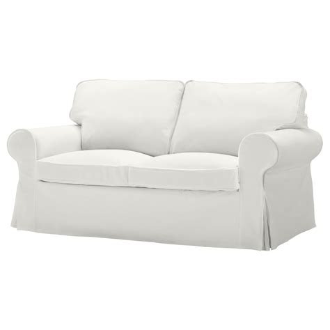 ikea slipcovers ektorp ektorp cover two seat sofa blekinge white ikea