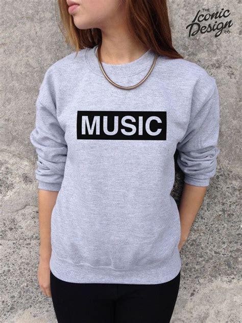 Sweater Rock Band Radio fashion slogan jumper top sweater indy rock rap retro on etsy 163 14 99