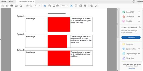 tutorial java itext itext 5 pdf draw rectangle in cell exle java
