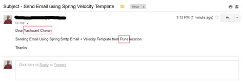 Velocity Template Exle For Email Send Email Using Spring And Velocity Email Template Exle