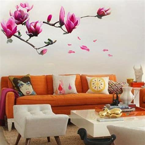 stickers murali fiori 50 adesivi murali per la decorazione delle pareti di casa