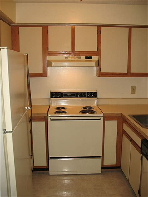 Painting Kitchen Cabinet Doors Only by Foobella Designs Painting Laminate Kitchen Cabinets
