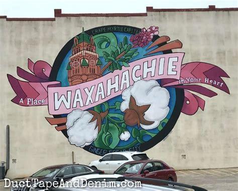 Waxahachie mural   DuctTapeAndDenim.com   Duct Tape and Denim