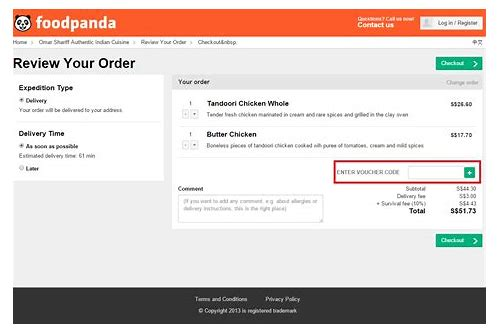 foodpanda discount coupons for new user