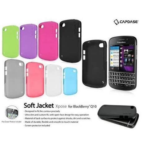 Sale Capdase Softjacket Xpose Blackberry Q10 Original Blue R 1 jual beli sale capdase softjacket xpose blackberry q10 original blue solid purple