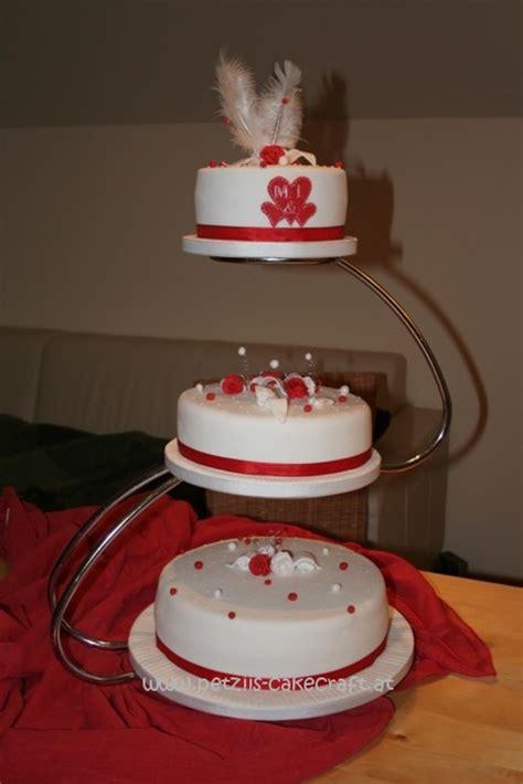 Hochzeitstorte Rot Wei by Besondere Anl 228 Sse 1 187 Hochzeitstorte Rot Weiss