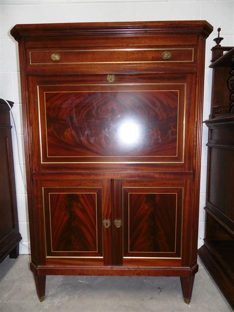 antique drop front desk louis xvi drop front desk secretary antiques atlas